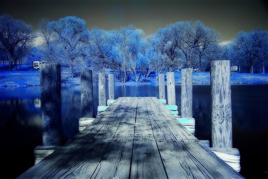 Infrared Dock by Tim Wright
