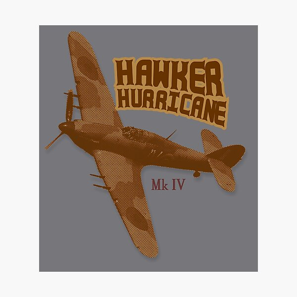 Hawker Hurricane Mk IV Photographic Print