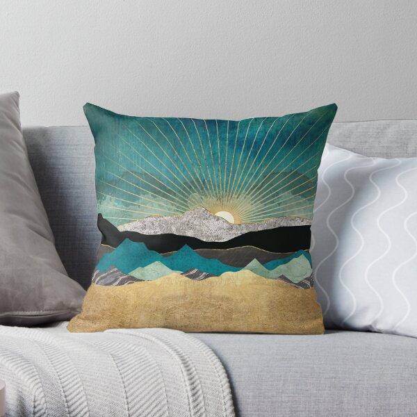 Peacock Vista Throw Pillow