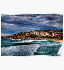 Bronte Beach HDR Poster