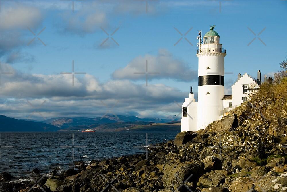 Cloch Lighthouse by JamesTH