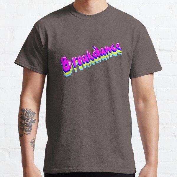 Breakdance! Funky Purple Bubble Writing. Classic T-Shirt