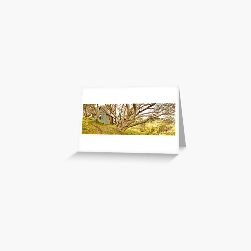 Cope Hut, Falls Creek, Victoria, Australia Greeting Card