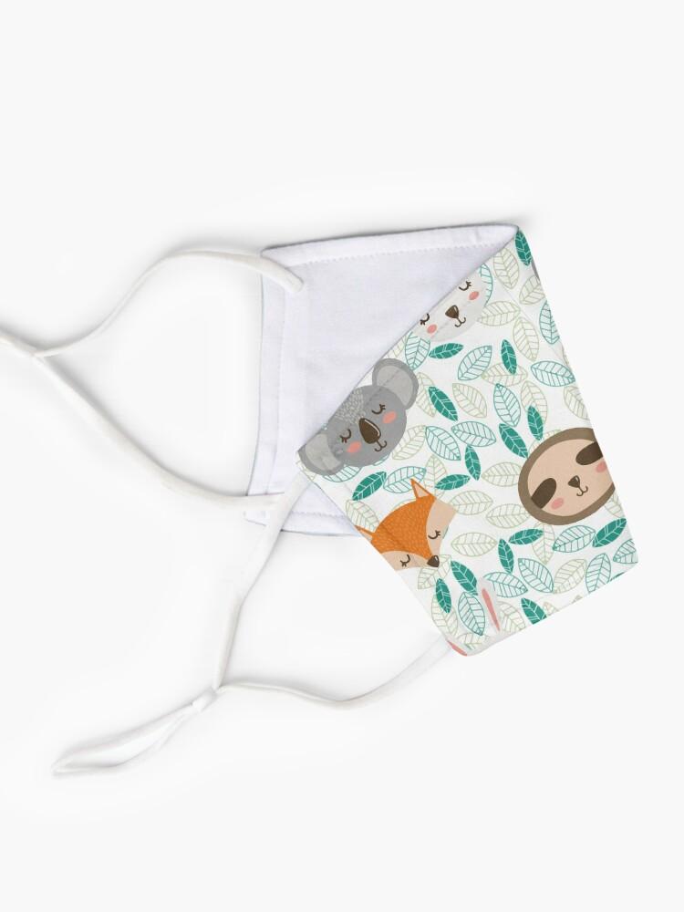 Alternative Ansicht von Niedliches Tier Design Geschenk mit Faultier, Fuchs, Koala Bär und Hase Maske