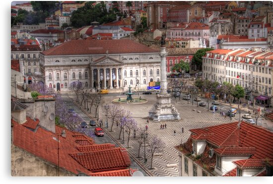 A view inside  Lisbon (Lisboa) Portugal by John44