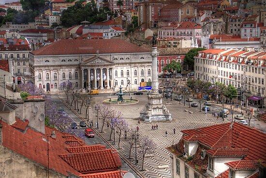 A view inside  Lisbon (Lisboa) Portugal by John44
