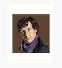 Sherlock Holmes Art Print