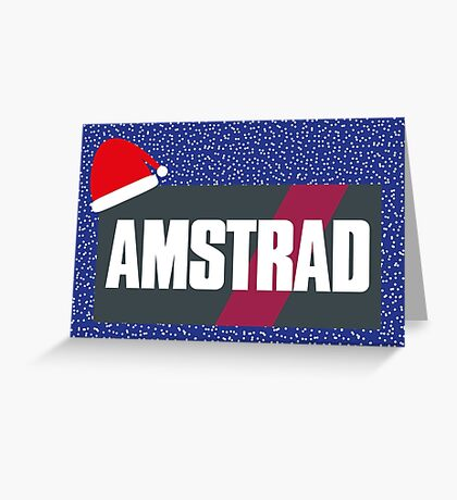 NDVH Christmas Amstrad Greeting Card