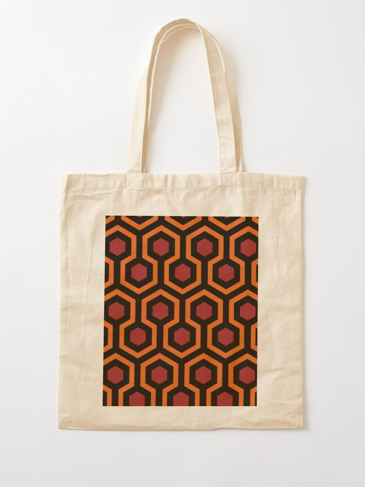 Alternate view of Overlook Hotel Carpet from The Shining Large Tote Bag