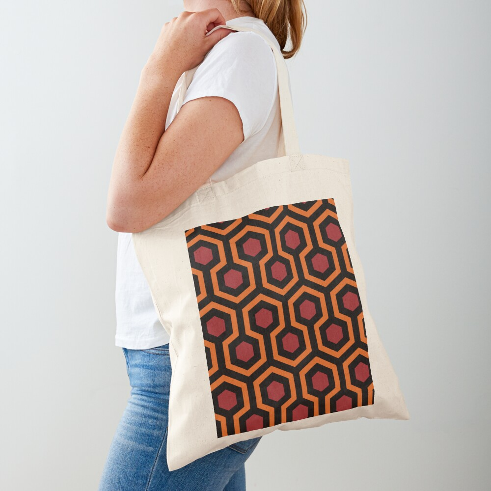Overlook Hotel Carpet from The Shining Large Tote Bag