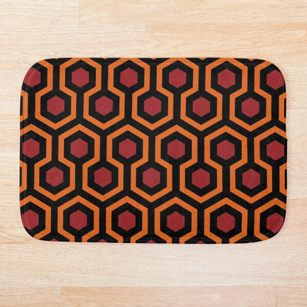 Overlook Hotel Carpet from The Shining Large Bath Mat