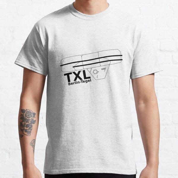 Flughafen Berlin Tegel Classic T-Shirt