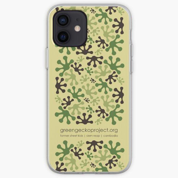 Green Mango Camo iPhone Soft Case