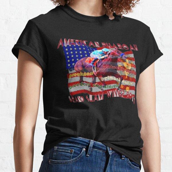 American Pharoah Horse Racing's Grand Slam Winner 2015 Classic T-Shirt