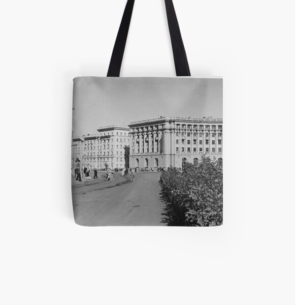 Norilsk, Norillag, Норильск, Норильлаг, Gulag, ГУЛаг All Over Print Tote Bag