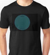 Wire Globe Full Blue Black T-Shirt