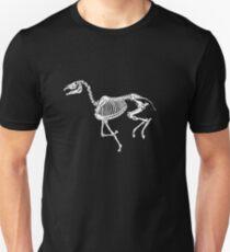 Running skeleton horse Unisex T-Shirt
