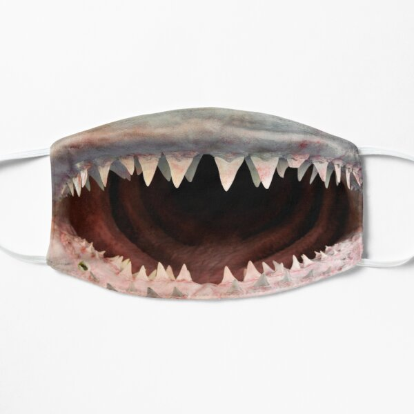 Shark Jaw Flat Mask