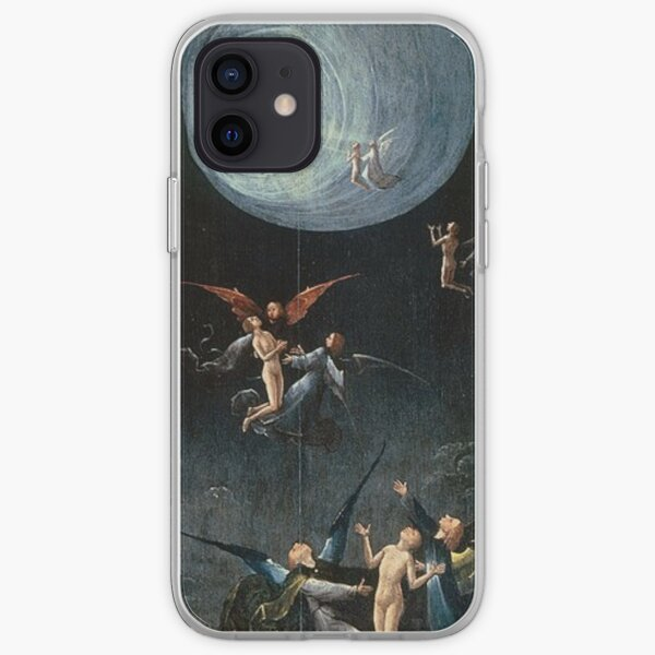 Hieronymus #Bosch #HieronymusBosch #Painting Art Famous Painter   iPhone Soft Case