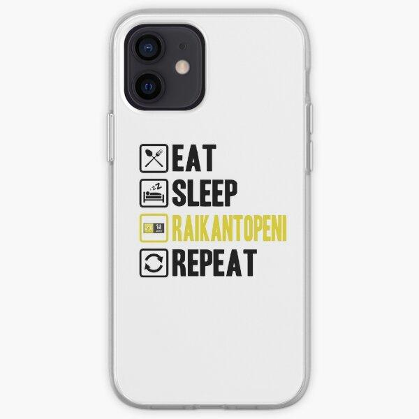 Eat Sleep Raikantopeni Repeat 2 Funda blanda para iPhone