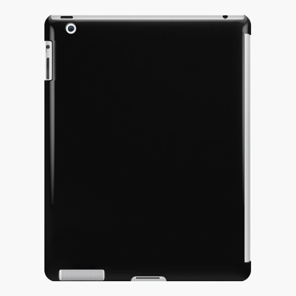 Black black iPad Snap Case