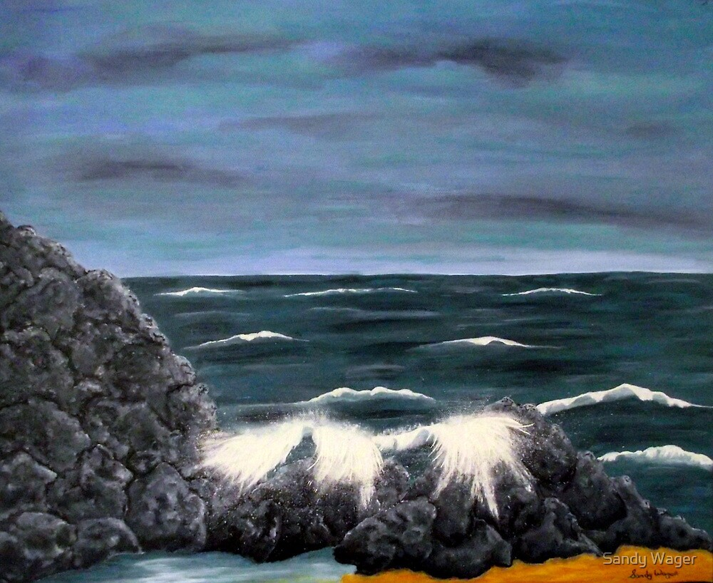 Seascape1 by Sandy Wager