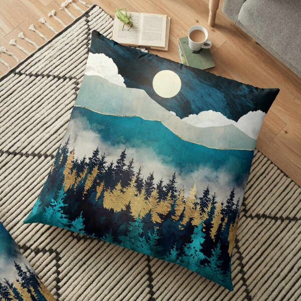 Evening Mist Floor Pillow