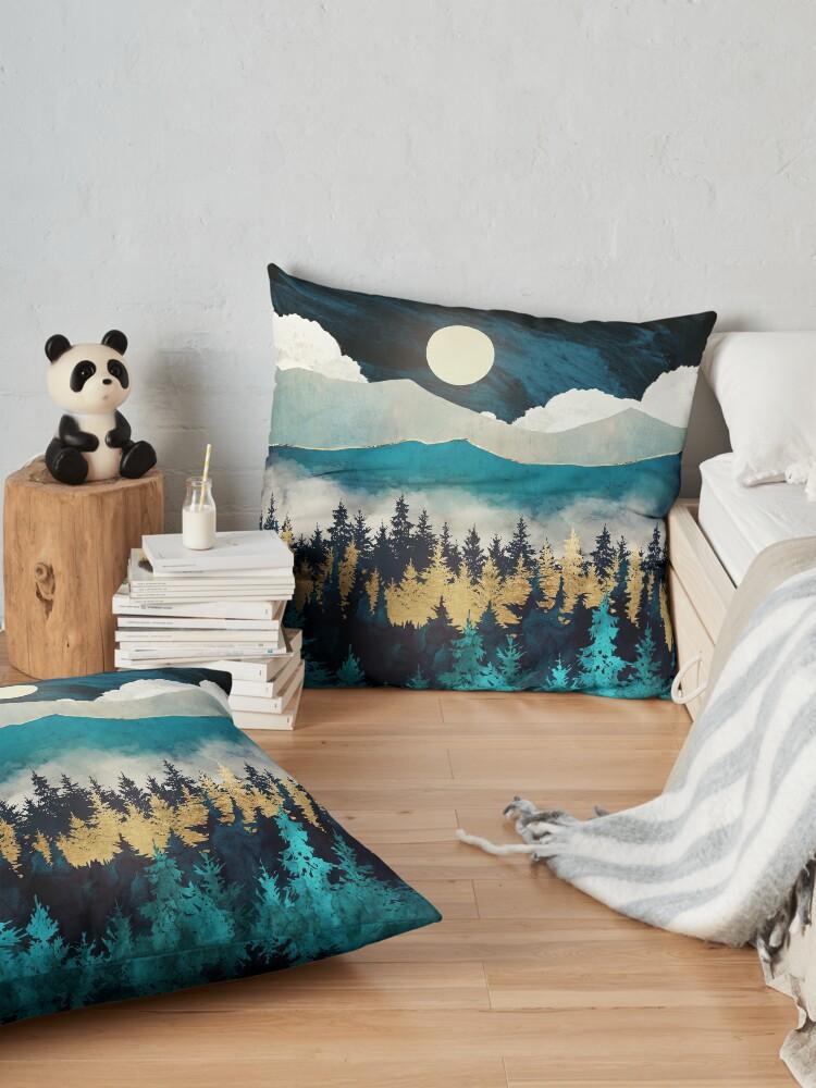 Alternate view of Evening Mist Floor Pillow