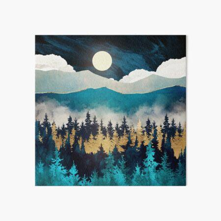 Evening Mist Art Board Print