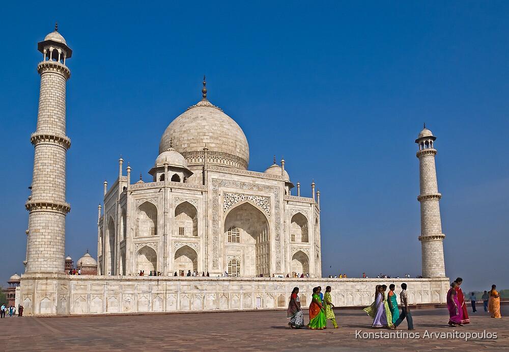 Taj Mahal (II) by Konstantinos Arvanitopoulos