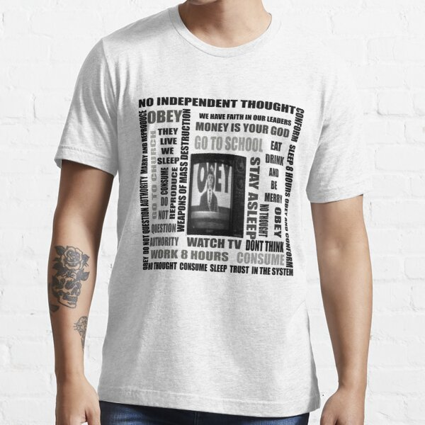 THEY LIVE subliminal messaging Essential T-Shirt