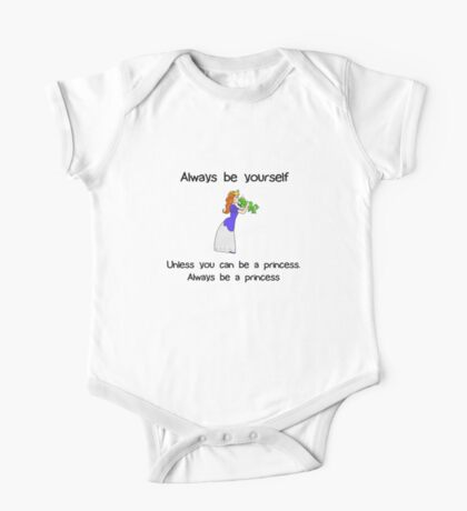 Always Be Yourself - Princess Kids Clothes