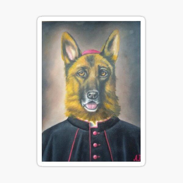 Bishop Dog Sticker