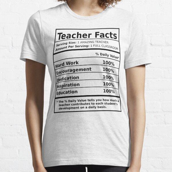 Teacher Facts Essential T-Shirt
