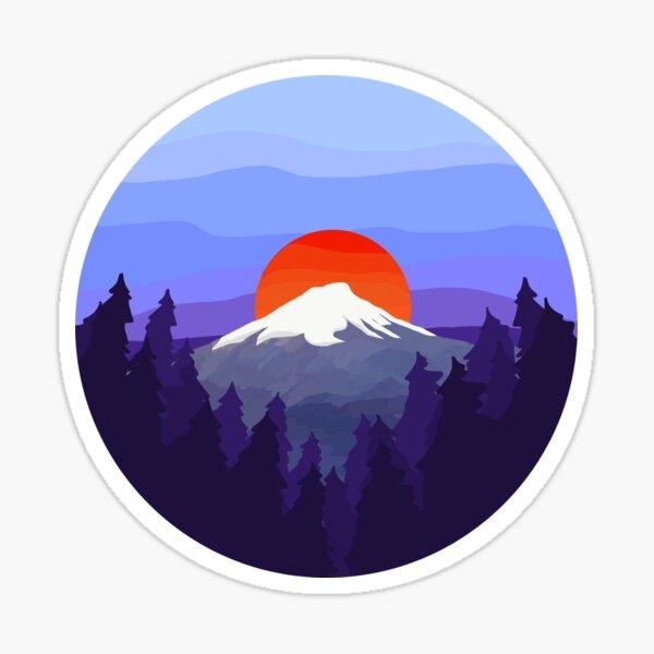Mount Fuji ~ aesthetic Sticker