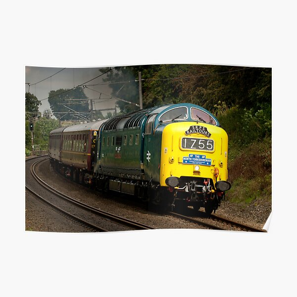The Deltic Poster