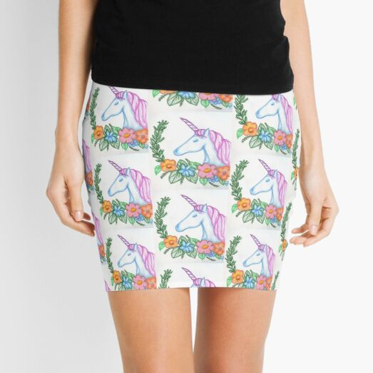 I still Believe in Magic - and Unicorns! Mini Skirt