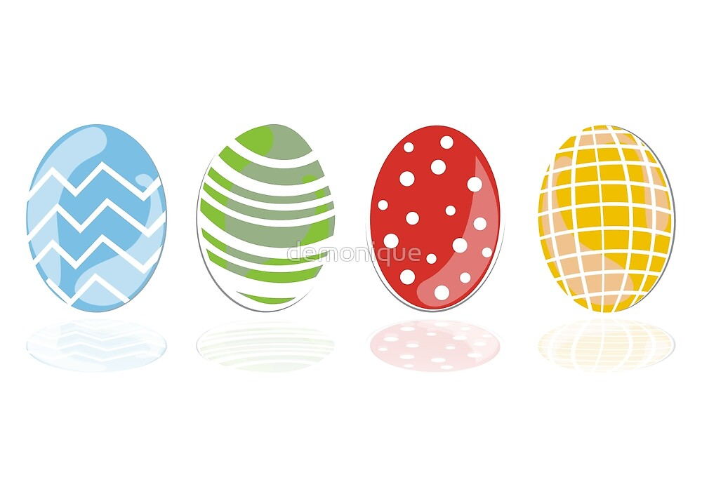 4 easter eggs by demonique