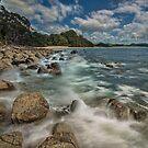 Hotwater Beach Rocks by Ken Wright