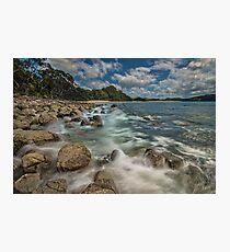 Hotwater Beach Rocks Photographic Print