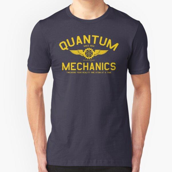 QUANTUM MECHANICS Slim Fit T-Shirt