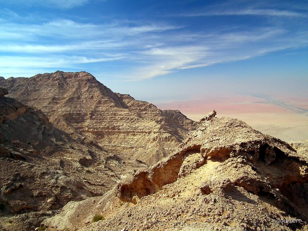Jebel Hafeet, Abu Dhabi, UAE. by dowzerr