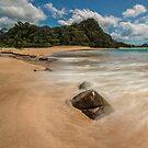 Hot Sands, Hot Water Beach by Ken Wright