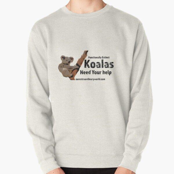 Save the Koalas Pullover Sweatshirt
