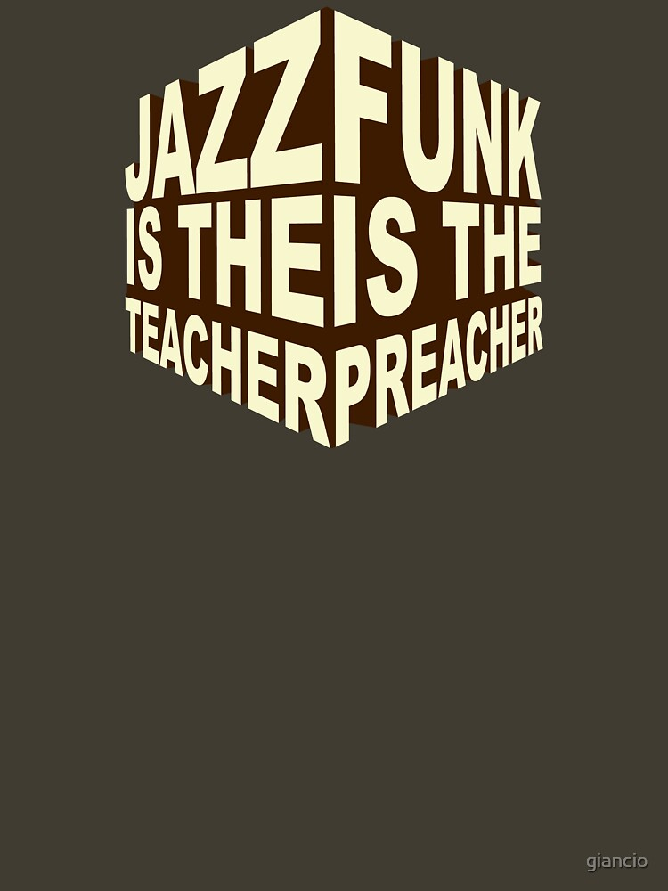 Jazzfunk Cube brownie by giancio