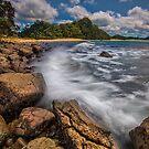 Hot Water Beach Driftline by Ken Wright