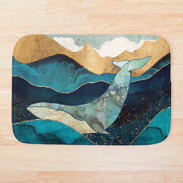 Blue Whale Bath Mat