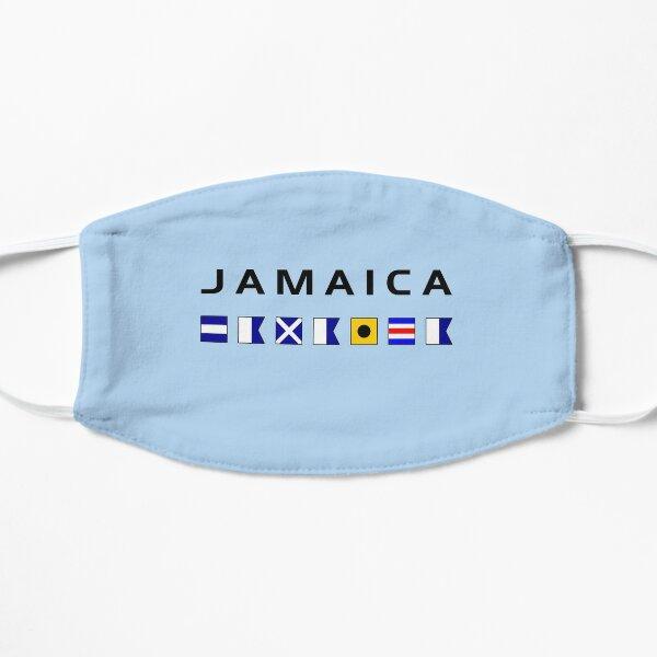 Banderas de navegación marítima náutica de Jamaica de color claro Mascarilla