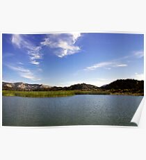 Cachuma Lake California Poster