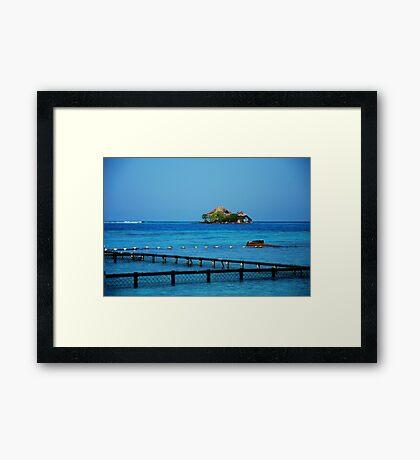 Rosario Island Framed Print